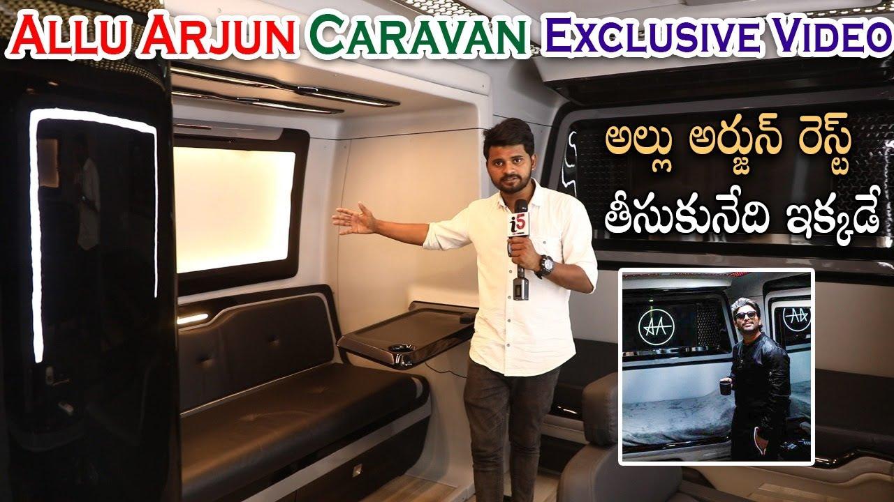 Download Allu Arjun New Caravan Exclusive Full Video   #FalconVehicle   #AA19   i5 Network