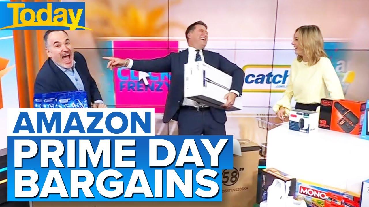 Online retailers jumping on Amazon Prime Day bandwagon   Today Show Australia