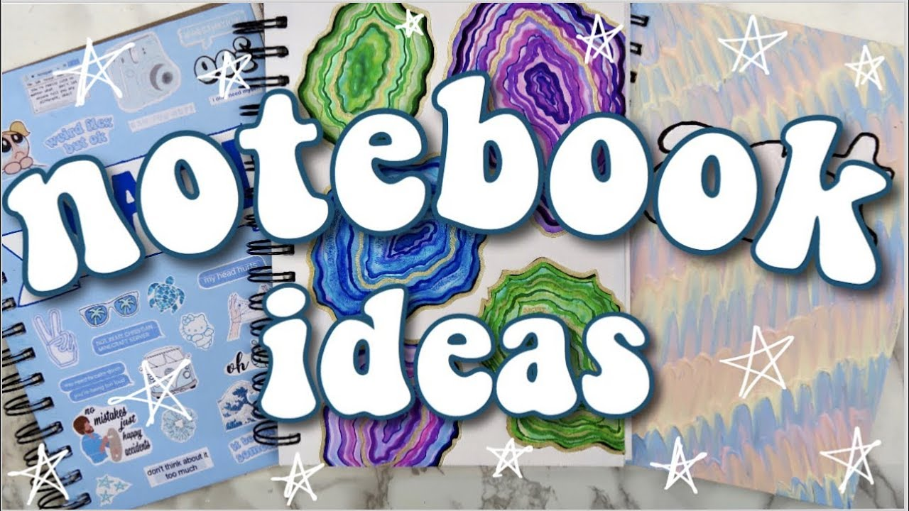 How to Decorate your Notebooks! DIY School Supplies 2019