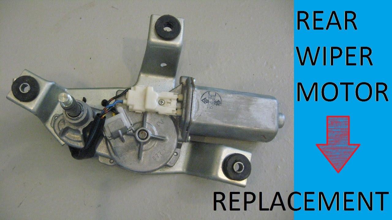 rear wiper motor wiring diagram att u verse replacement youtube