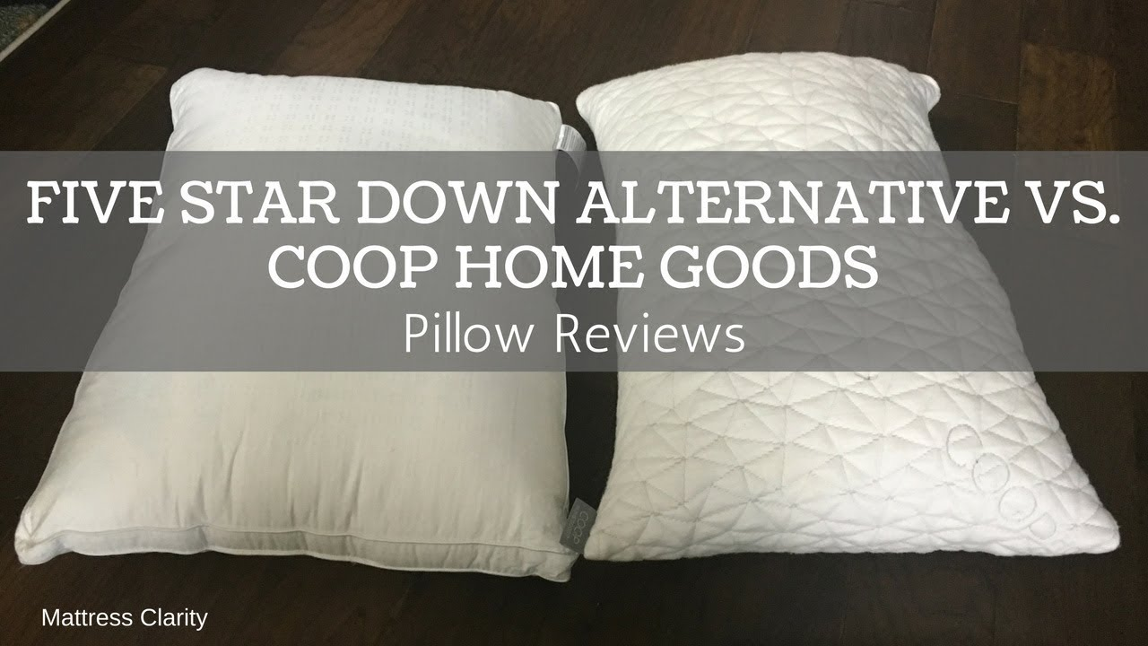 coop home pillow review online