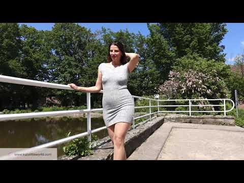 TIGHT MINI DRESS TIGHTS and HIGH HEELS  Summer Look  Kats little world