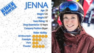 Jenna's Review-Gnu Ladies Choice Snowboard 2017-Snowboards.com