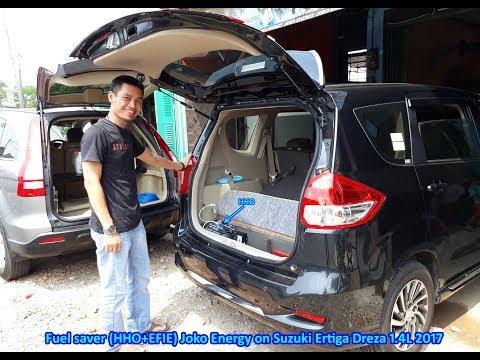Fuel saver (HHO+EFIE) Joko Energy on Suzuki Ertiga DREZA 1.4L 2017