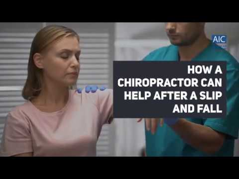 How a Chiropractor Can Help after a Slip and Fall