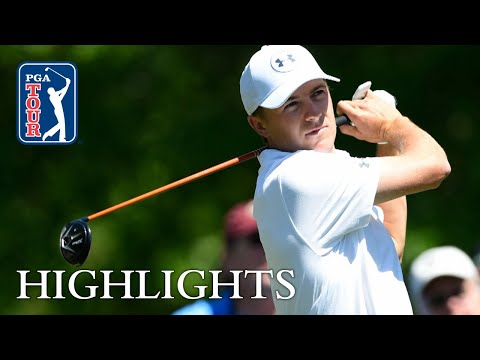 Jordan Spieth's Round 2 highlights from Houston Open