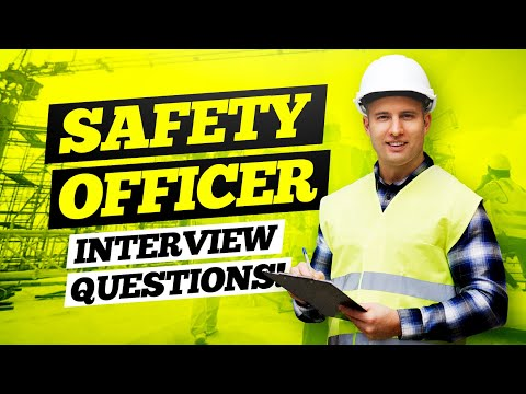 SAFETY OFFICER Interview Questions & Answers | (HSE Safety Officer Questions & Answers!)