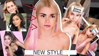ПОЛНОСТЬЮ ИЗМЕНИЛА ВНЕШНОСТЬ Instagram маска выбирает мой макияж и стиль NEW STYLE