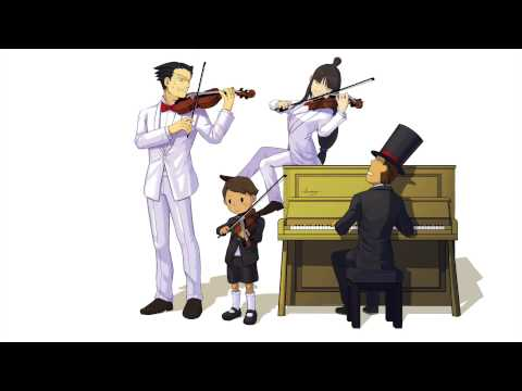 Make Professor Layton vs Phoenix Wright- Main Theme Violin/Piano cover Screenshots