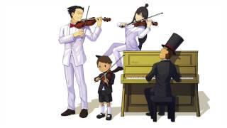 Professor Layton vs Phoenix Wright- Main Theme Violin/Piano cover