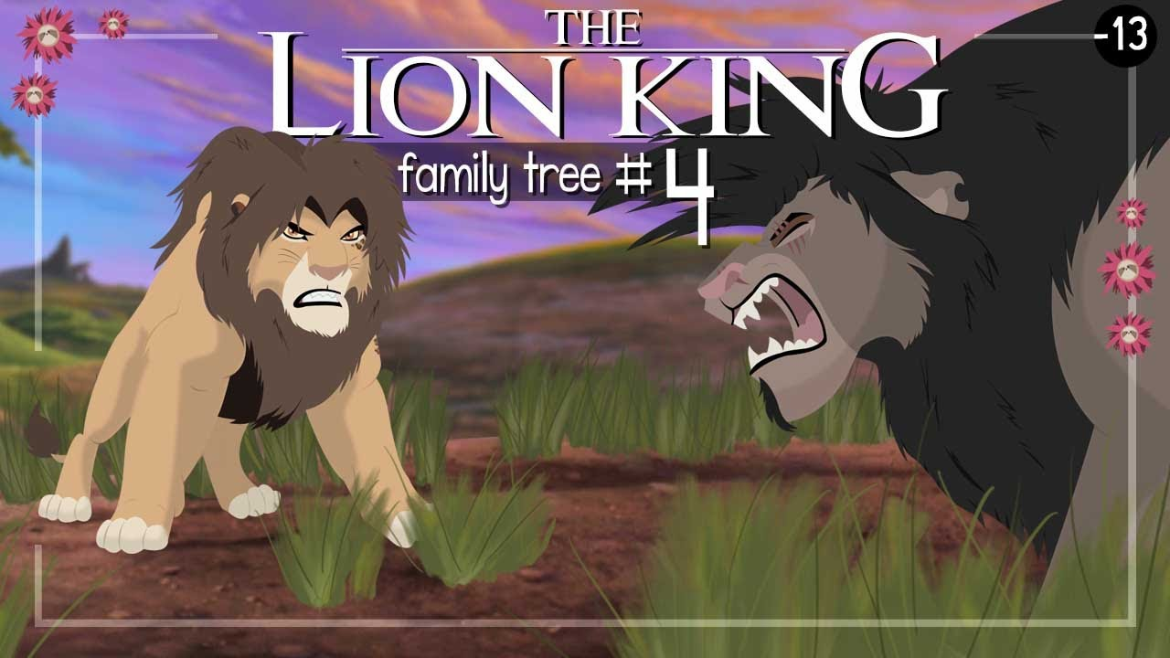 The Lion King Family Tree Part 4 Youtube