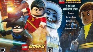 Lego Batman 2 DC super heroes character pack DLC