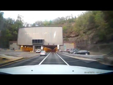 Fort Pitt Tunnel.  Pittsburgh, Pennsylvania