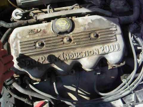 Como Van Instalados Los Cables Para Bujia Ford Escort 97 2