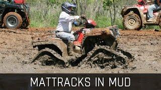 Mattracks in Mud