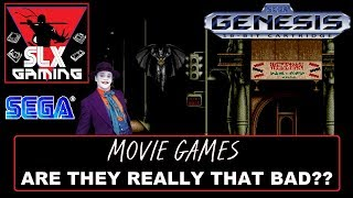 Sega Genesis & Mega Drive Movie Games - Are They Really That Bad??