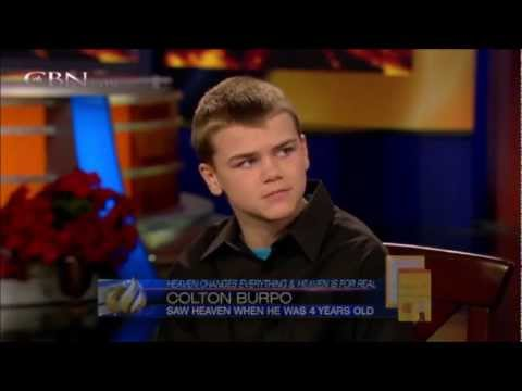 """Heaven is For Real"" Revisited December 7, 2012 ~ Colton Burpo at 13"