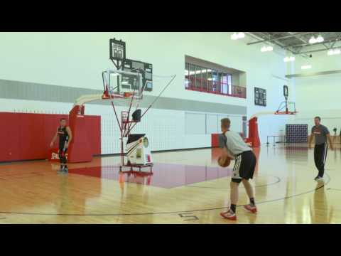 Chicago Bulls Coach Fred Hoiberg shows a great shooting drill using the Gun