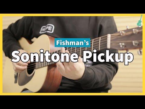 Fishman Sonitone Pizeo Pickup  Sound Sample