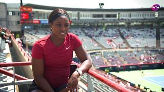 Sloane Stephens | 2018 Montreal pre-tournament interview