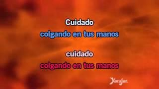 Karaoke Colgando en tus manos duo Carlos Baute