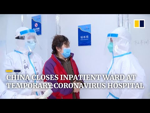 Leishenshan Hospital At Epicentre Of China's Coronavirus Outbreak Closes Its First Inpatient Ward