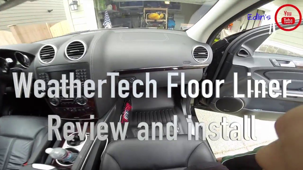Weathertech all vehicle mats review - Weathertech Floor Mats Review Mercedes Benz Gl Series
