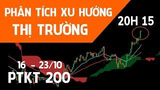 ???? [Trực tiếp] PTKT200 | Phân tich xu hướng Bitcoin, Gold, Forex, Chứng khoán 16 - 23/10/21