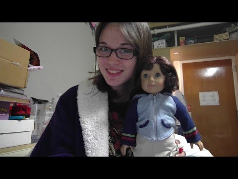 American Girl Lindsey Bergman Girl Of The Year 2001 DOLL REVIEW (+accessories Set!)