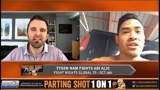 FN Global 75's Tyson Nam talks Oct. 6 fight & highlight reel win over UFC vet Ali Bagautinov