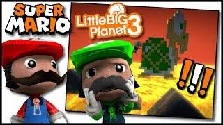 Random FUN Super Mario Bros. Games in Little Big Planet 3