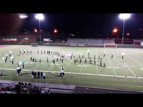 Monmouth Regional HS Marching Band performing Toms River HS South