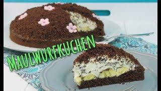 MAULWURFKUCHEN BACKEN | einfaches & schnelles Rezept [Kuchen selber machen]