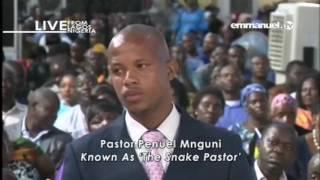 EMMANUEL TV LIVE SERVICE   SUNDAY 04 06 2017  PASTOR PENUEL MNGUNI  VIDEO 5 OF 8