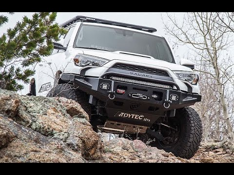2016 Toyota 4-Runner with a Toytec BOSS Level off Kit at Dales Auto Service Langley