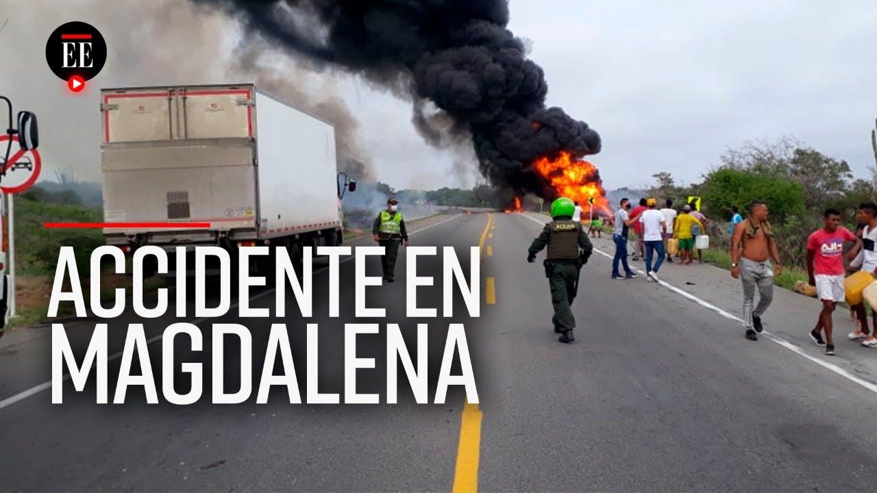 Accidente en Magdalena deja a siete personas muertas y a 49 más heridas
