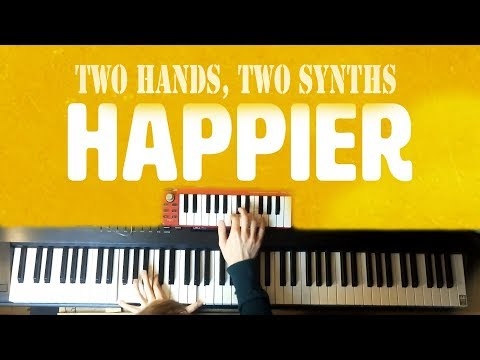Marshmello ft Bastille - Happier - Piano & Synth Loop
