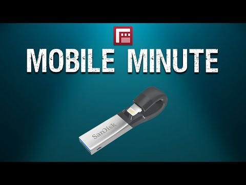 Sandisk IXpand Showcase - Mobile Minute Gear Spotlight By FiLMiC Pro