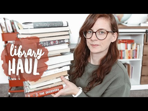 LIBRARY BOOK HAUL 🏛️ so many good books I've recently checked out from my library!