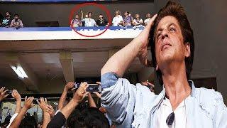 IPL मैच में जब फैन्स को नजर आए शाहरुख, फोटो लेने के लिए यूं मच गई होड़