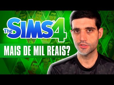 The Sims 4 COMPLETO custa mais de 1000 reais? Steam criticada e o Aquaman bilionário thumbnail