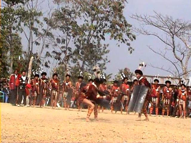 Sumi Naga War Dance (Part-2) Mulato Katty Travel Video