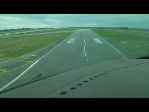 Liege Airport EBLG Takeoff on  runway 23R (the short one)
