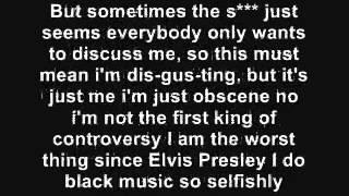 Eminem - Without Me lyrics