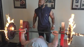 Burning Bench Press with Scot Mendelson & CT Fletcher
