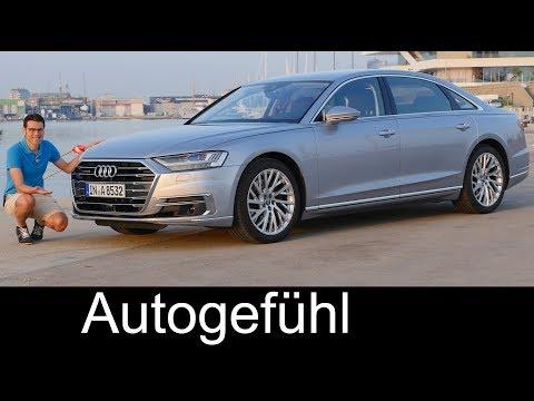 Audi A8 documentary FULL REVIEW A8L 55 TFSI 3.0 all new 2018 neu Autogefhl