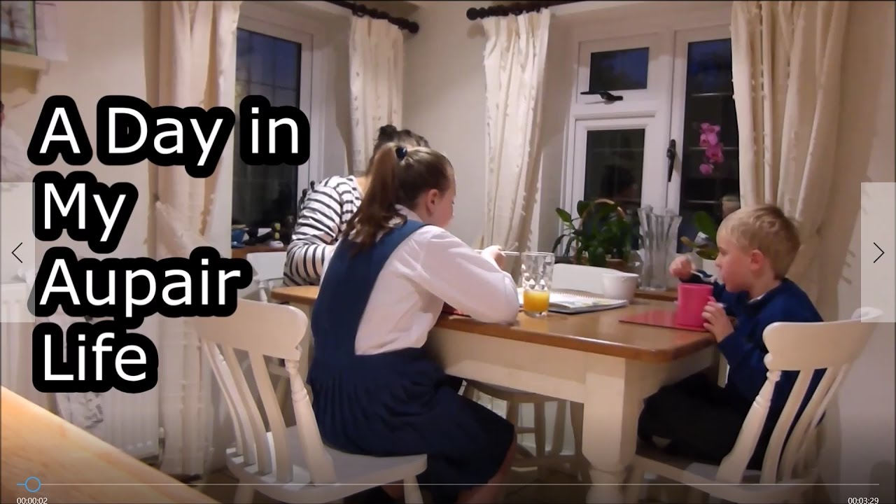 A Day In My Life Au Pair In England Youtube
