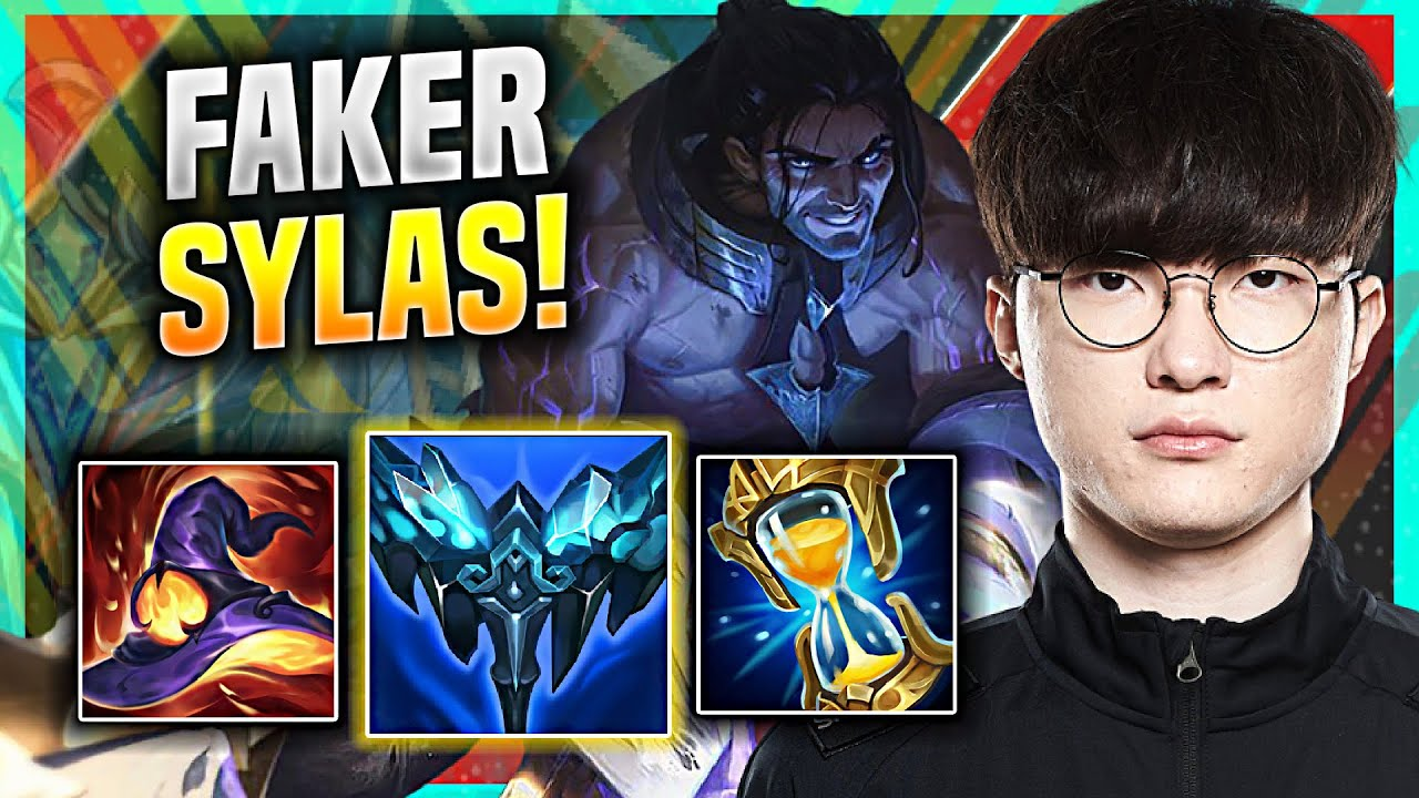 FAKER IS THE BEST WITH SYLAS! - T1 Faker Plays Sylas Mid vs Ryze! | KR SoloQ Patch 11.12