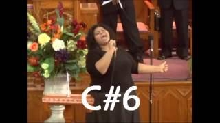 Tiffany Mosley - Belting Notes Live (G#5 - Eb6)