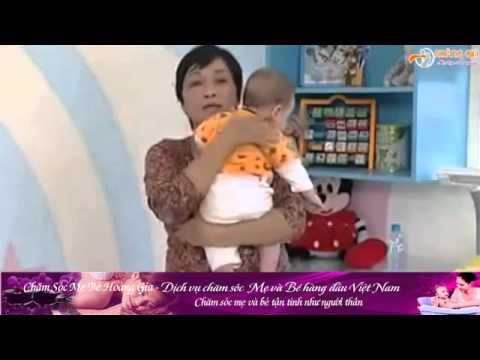 {CSMBHG} Hướng dẫn bế trẻ sơ sinh đúng cách